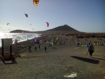 kite surf area